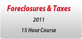 Foreclosures & Taxes
